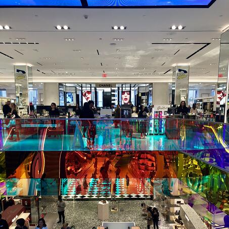 Review: Saks Fifth Avenue Beauty Floor